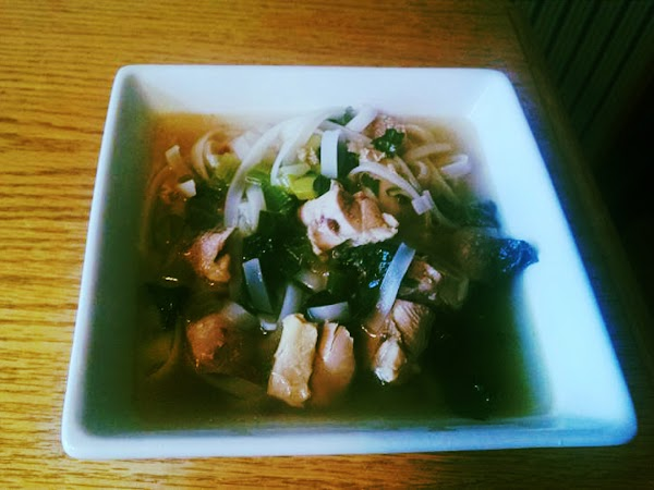 Tour Of Asia Chicken Noodle Soup Recipe