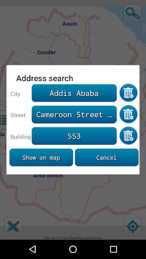 Map of Ethiopia offline  screenshots 3