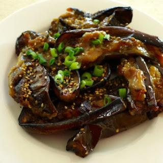 Miso Roasted Eggplant and Zucchini [Vegan] Recipe