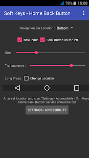 App Soft Keys - Home Back Button APK for Windows Phone