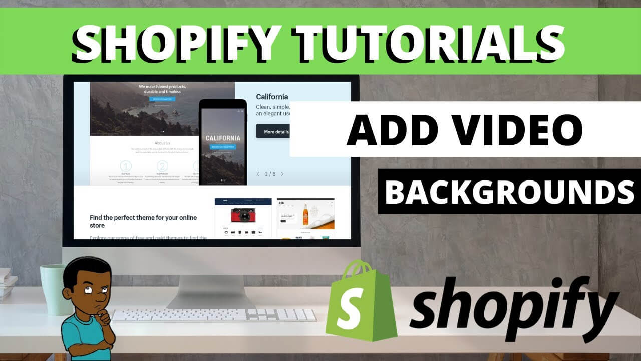 add video to shopify homepage