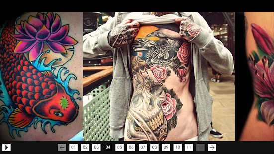 Men Tattoos screenshot