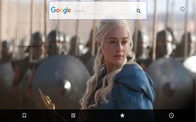 Game Of Thrones New Tab 2016