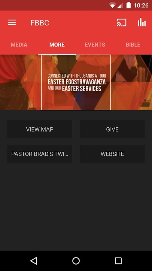 First Bossier Church- screenshot