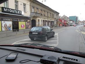 Photo: Parkování v Osijeku je podobné jako v Plzni: Kam to postavíš, tam to stojí...