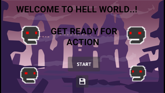 Hell World - An Action platform Game - náhled