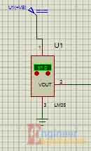 LM35 Sensor circuit (Digital Thermometer)