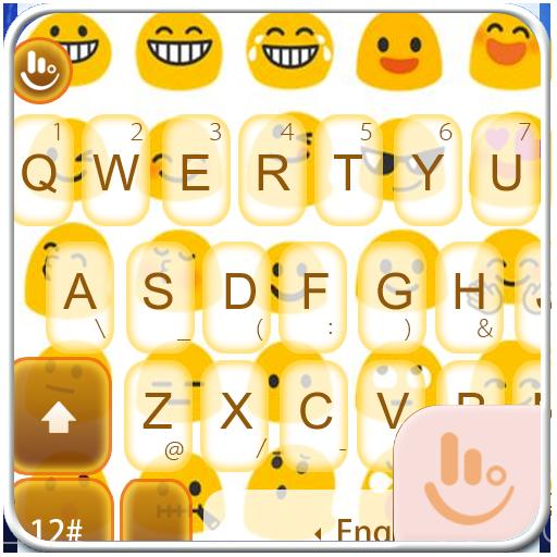 TouchPal Emoji Keyboard Theme 個人化 App LOGO-APP開箱王