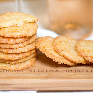 Comte Cheese Wafers.