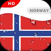 Norway Flag 3D live wallpaper