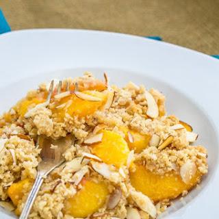 Peach Apricot Crumble.