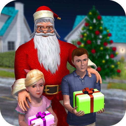 Baixar Rich Dad Santa: Jogo de Natal divertido