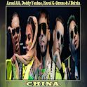 Anuel AA,Daddy Yankee,Karol G,Ozuna,J Balvin-China icon
