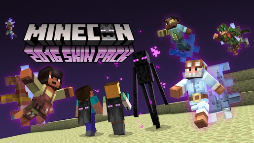 Get Your MINECON Pack Now