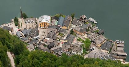 Photo: Hallstatt vnitřní městečko