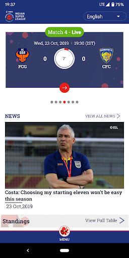 Indian Super League - Official App Apk 1