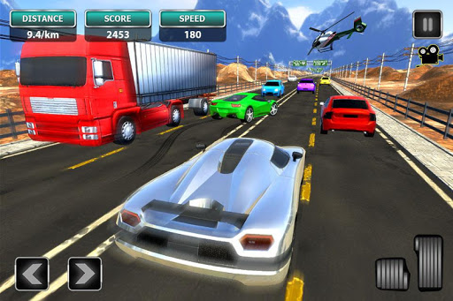 Real Traffic Simulator - Highway Racing 2019  captures d'u00e9cran 1
