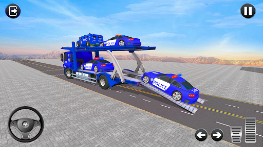 Grand Police Transport Truck screenshot 9