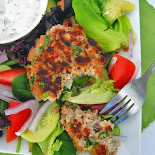 Lightened Up Salmon Cakes