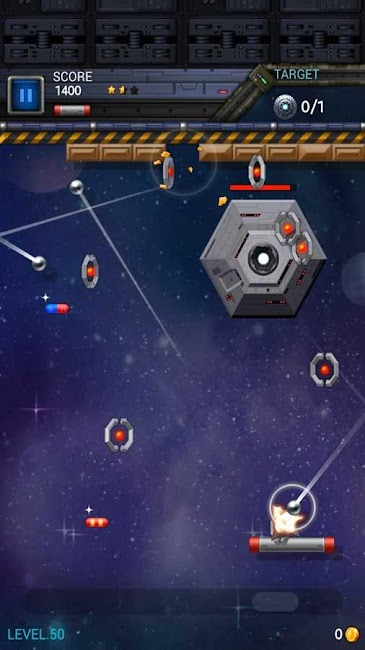 #4. Brick Breaker Star: Space King (Android)