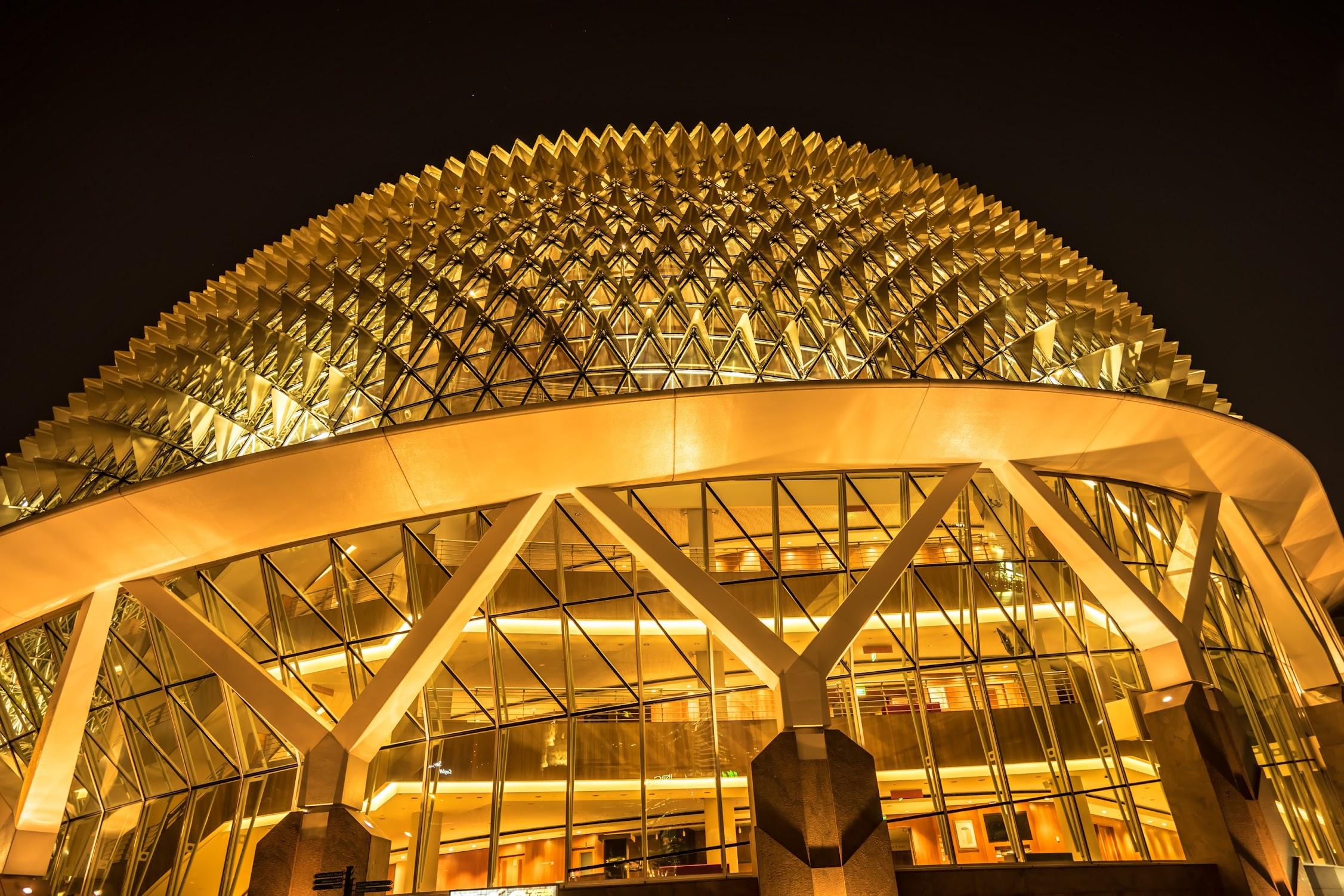 シンガポール エスプラネード 夜景2