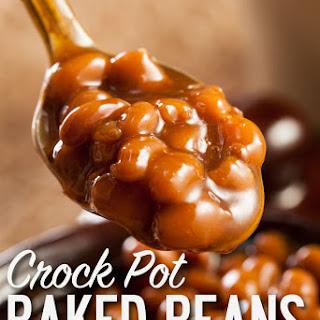 Crock Pot Baked Beans.