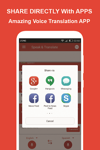 Speak and Translate All Languages Voice Translator screenshot 7