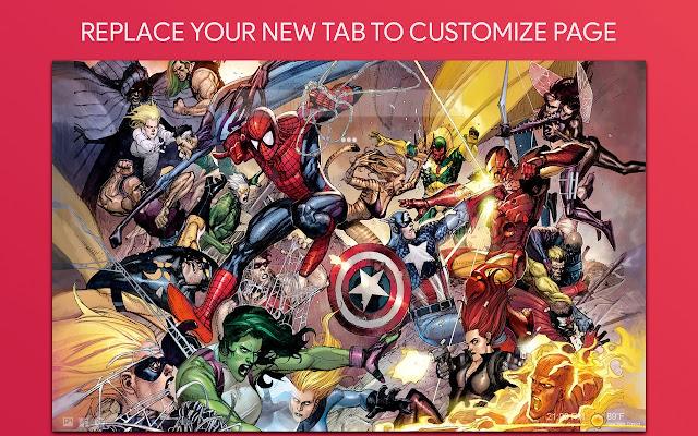 Marvel Tab Themes
