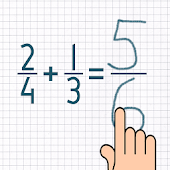 Adding Fractions Math Trainer