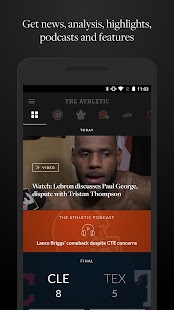 The Athletic- screenshot thumbnail