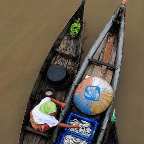 floating market by Miya Rachmi - People Portraits of Women