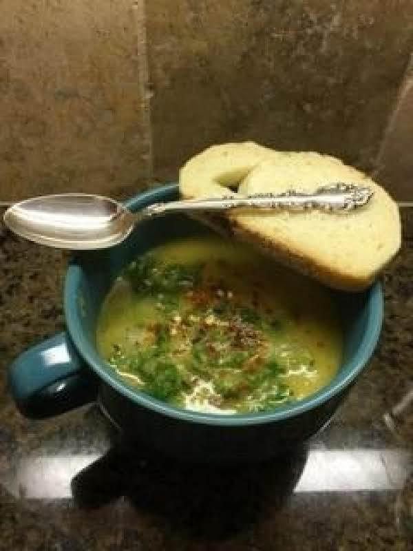 Kale Leek Potato Soup Recipe