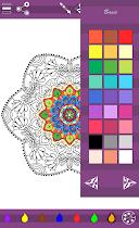Colorish mandala coloring book - screenshot thumbnail 10