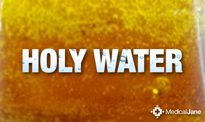 why would you call something holy water?