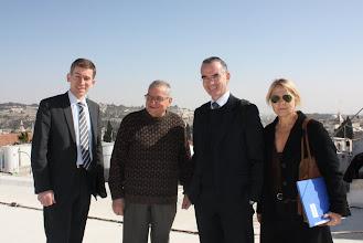 Photo: Rencontre avec frère Albert, du Collège des Frères à Jérusalem