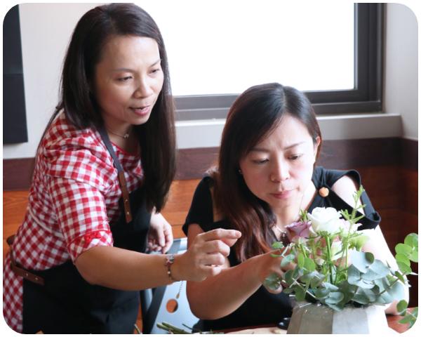 設計師專訪 乾燥花 花藝工作室
