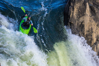 Photo: Kayakers in Great Falls Park.  (c) 2013 Christa Laser