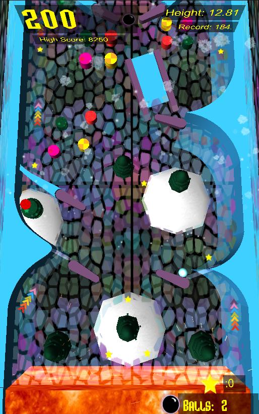 Скриншот Prismic Pinball Free