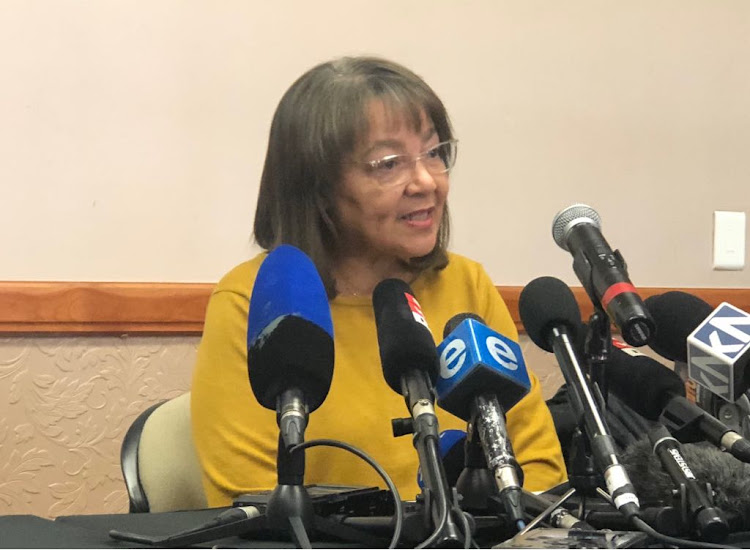 Patricia de Lille reflects on her future on Tuesday after having her DA membership revoked.