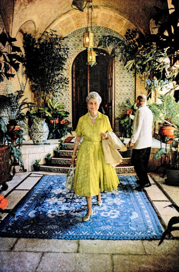 After Researching Mar A Lago Last Month I Learned That Marjorie Merriweather Post Actually Helped To Create The Fantastic Houses And Country Estates She