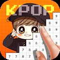 Kpop Idol Pixel Color Art Book 2019 icon