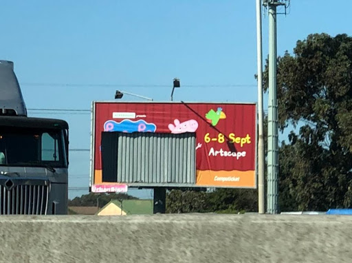 'It's probably a large mural in some lucky kid's lounge': Peppa Pig billboard stolen