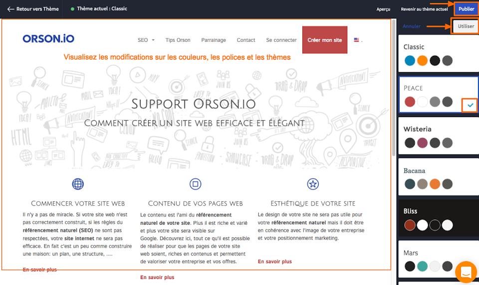 créer un design professionnel simplement sur un site internet