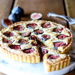 Fig And Frangipane Tart