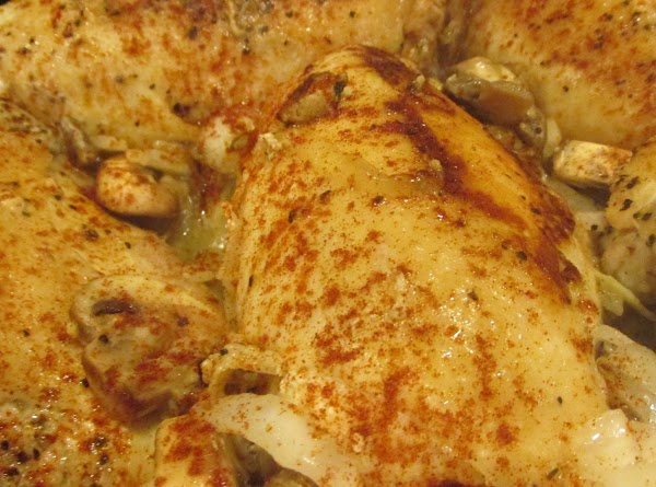 Sprinkle paprika lightly on chicken if desired to aid in browning. Continue to cook,...