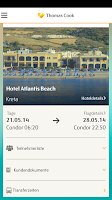 Screenshot of Thomas Cook Travelguide