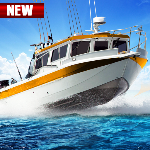 Fishing Boat Driving Simulator : Ship Games file APK for Gaming PC/PS3/PS4 Smart TV