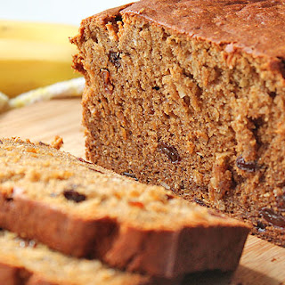 Coconut Raisin Banana Bread
