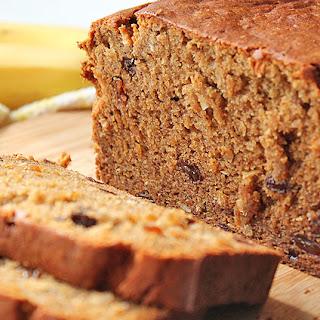 Coconut Raisin Banana Bread.