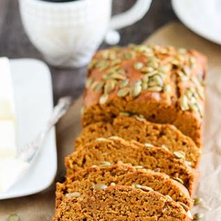 Healthier {Copycat} Starbucks Pumpkin Bread